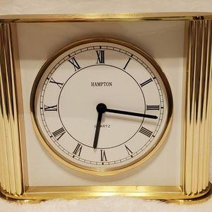 Vintage Hampton Hermle Quartz Mantel Clock